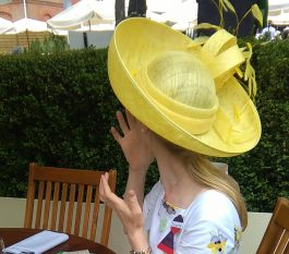 No it's not a Philip Treacy it's a Mary-Anne Morrison
