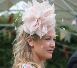 I love this picture of me in your Fascinator, so thank you Laura