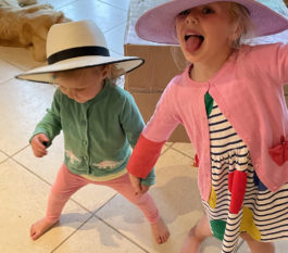 We love our hats Granny!